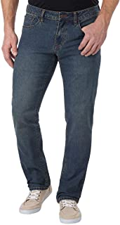 Men's Comfort Stretch Denim Jeans (Regular,Straight, and Relaxed Fit)