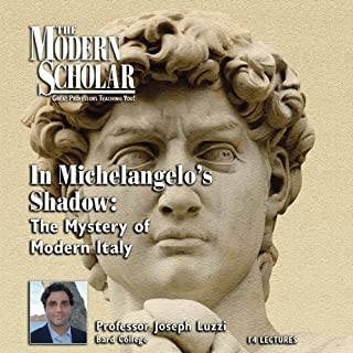 The Modern Scholar: In Michelangelo's Shadow cover art