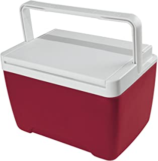 Igloo Nevera portátil Island Breeze 8 litros Roja Mini, Camping-Deportes, Rojo, 33x24x23