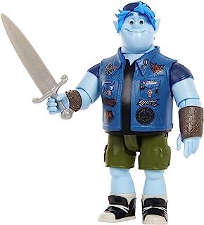 Pixar Disney Onward Figura de Juguete Barney con Espada (Mattel GMM16)