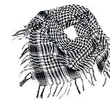Colorful(TM 1pc Unisex - Mode Frauen Männer Arabischen Shemagh Keffiyeh Palästina Tuch Wickeln (BK)