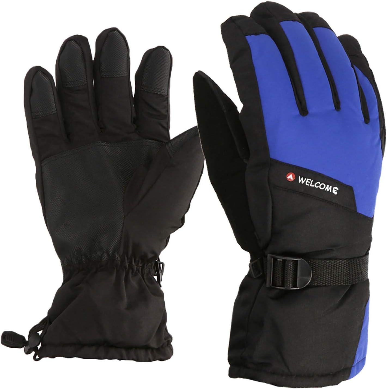 Winter Ski Gloves Waterproof Warm Kids Gloves Full Finger Gloves Mittens Sports Cycling Winter Glove
