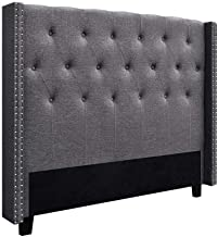 Artiss LUCA Queen Size Bed Head Headboard Bedhead Leather Base Frame