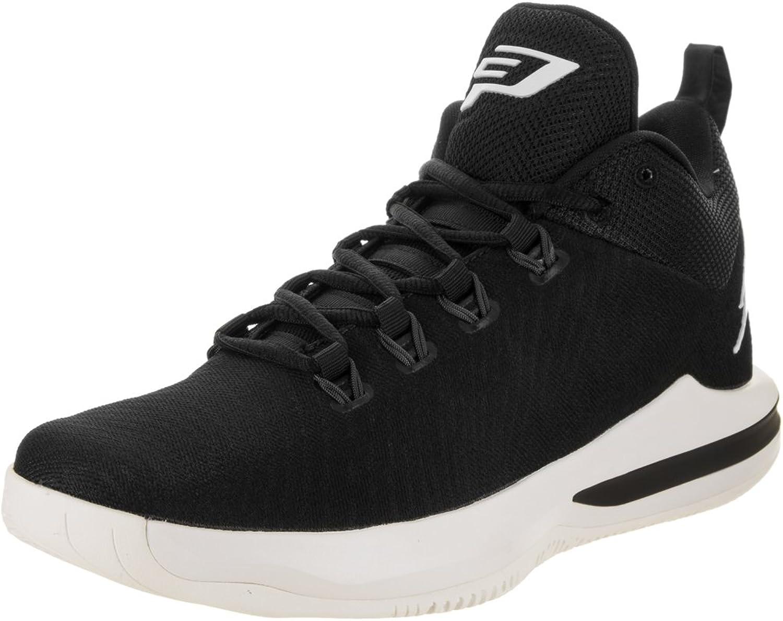 Nike Jordan Herren cp3.x AE schwarz sail dunkelgrau Basketball Schuh 8,5Herren Uns