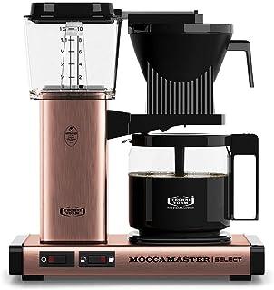 Moccamaster CD - KBG 741 Select - Copper Kaffemaskin, 1.25L, Guld, Svart