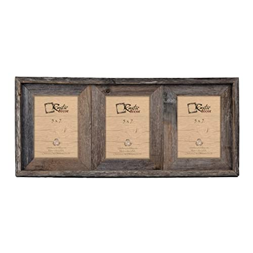 Rustic Picture Frames Collage Amazoncom