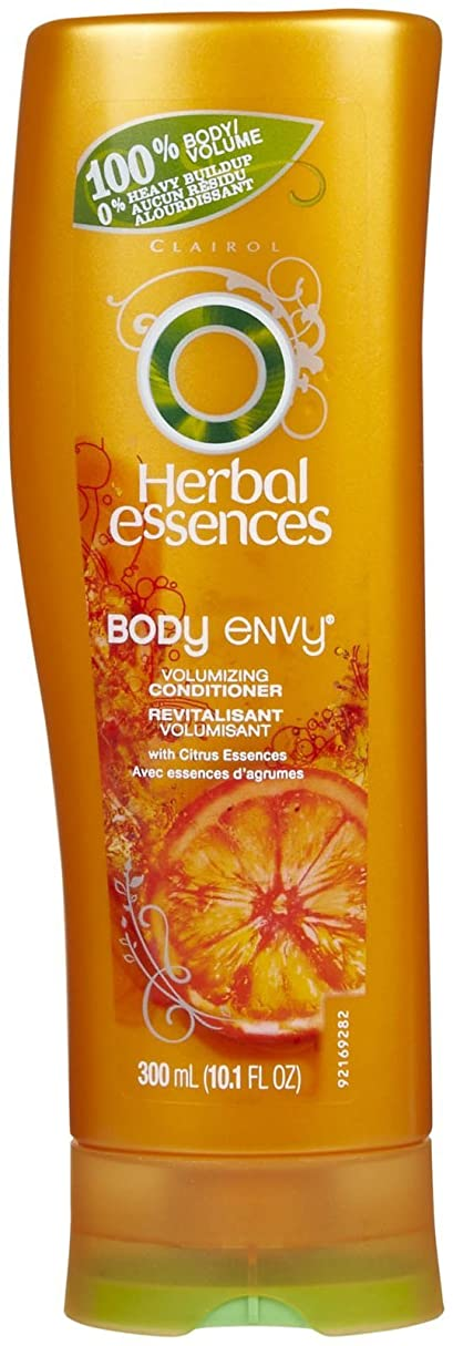 小麦ビーズビタミンHERBAL ESSNC COND BODY ENVY 10.17 OZ by Herbal Essences
