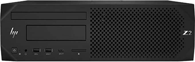HP Z2 SFF G4 (Intel Xeon E-2144G Processor Quad-Core, 64GB RAM, 3TB HDD + 1TB Sata SSD, NVIDIA Quadro P620, Gigabit Ethernet, Win 10 Pro)