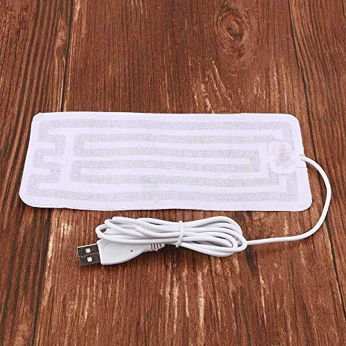 HIJUF Solette riscaldate universali USB, scaldapiedi Invernali per Sciare all'aperto Scarpe Sportive Sottopiede Elemento riscaldante Unisex, 8 * 18 cm, 1 pz