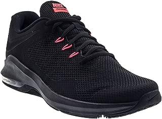 Nike Men's Air Max Alpha Trainer Training Shoe, Black/Black/Bright Crimson, Size 6.5