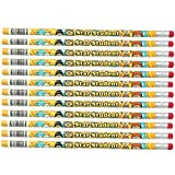 "J.R. Moon Pencil JRM2113B Dozen of Star Student Pencils, 0.4"" Height, 7.4"" Wide, 2.4"" Length (12 Count)"