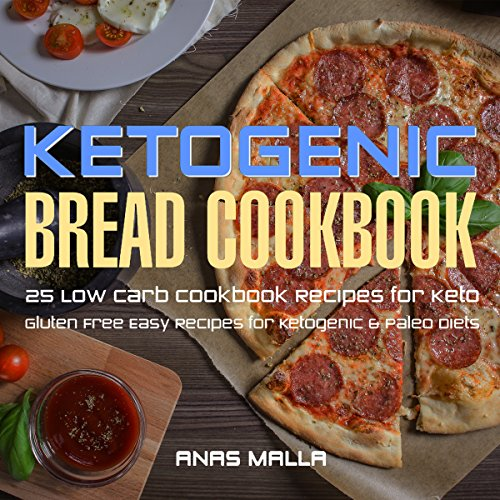 Ketogenic Bread Cookbook Titelbild