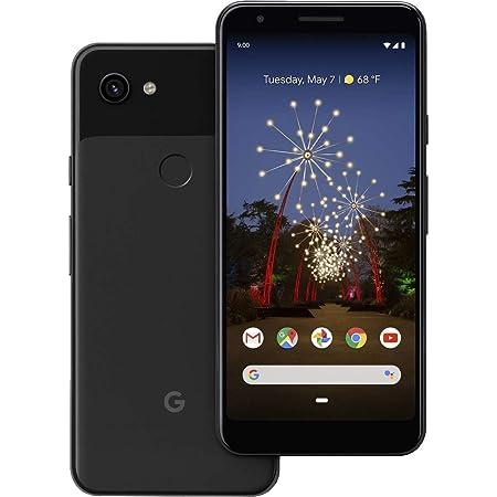 "Google Pixel 3A (64GB, 4GB RAM) 5.6"" Display - GSM/CDMA Factory Unlocked (AT&T/T-Mobile/Verizon/Sprint) Global 4G LTE International Model (Just Black)"