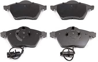 Ceramic Discs Brake Pads,SCITOO 4pcs Front Brake Pads Brakes Kits fit 03 04 05 06 Audi A4,99 00 01 02 03 04 05 06 Audi A4 Quattro,01 02 03 04 05 Volkswagen Passat Compatible 309.08400/EHT840 D840-7715