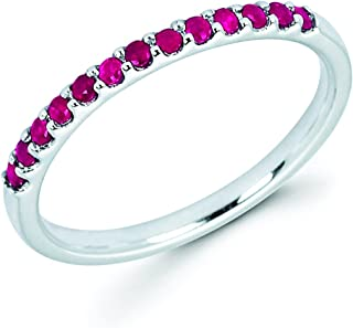 Best ruby band ring Reviews