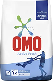 OMO Active Fresh 5.5 kg 1 Paket (1 x 5500 g)