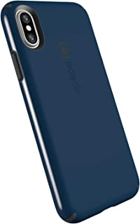 Speck Products CandyShell Cell Phone Case for iPhone XS/iPhone X - Deep Sea Blue/Slate Grey