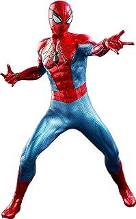 "Hot Toys Marvel Spider-Man Game Spider-Man (Spider Armor - MK IV Suit) 1/6 Scale 12"" Action Figure"