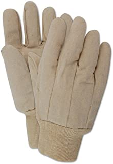 Magid Glove & Safety T1031-DS MultiMaster T1031DS 10 oz. Straight Thumb Canvas Gloves, XL, Natural (Pack of 12)
