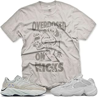 New OVERDOSED ON KICKS T Shirt for Adidas Yeezy Boost 500 700 Salt Desert