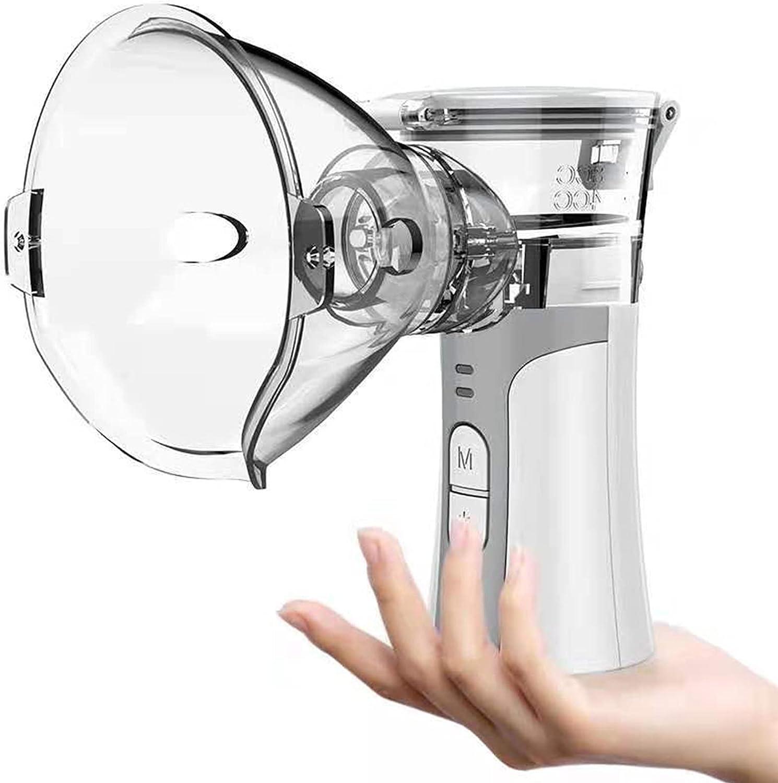 DFFng Nebulizador portátil, inhalador de Vapor de Niebla fría, máquina de Malla de Mano eficaz Que Brinda Alivio instantáneo para niños Adultos para Viajes o Uso Diario en el hogar