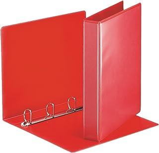 Esselte - Esselte Essentials - 49713 - Classeur à anneaux personnalisable - A4 - Capacité de 280 feuilles - Carton recouve...