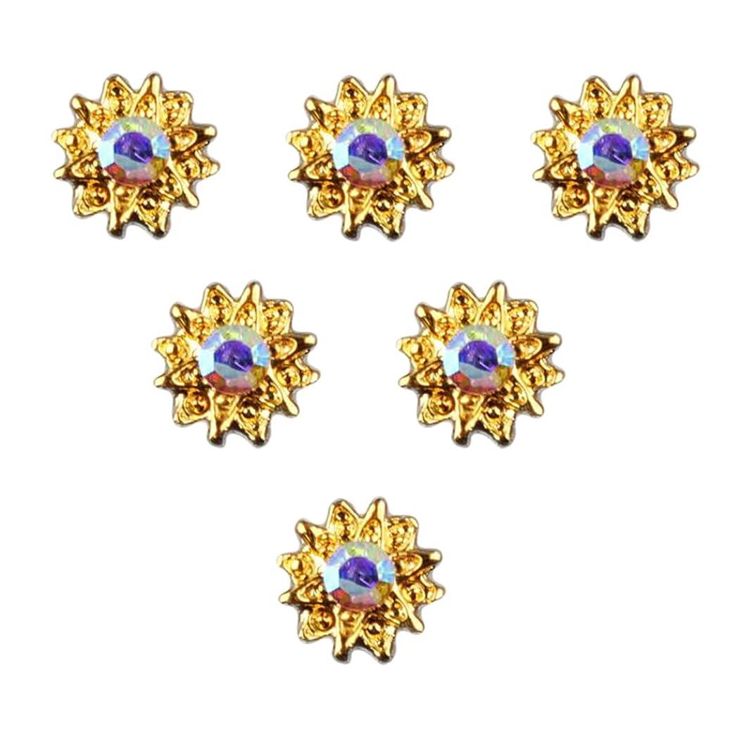 技術的なコンソール二十T TOOYFUL 全8種類 マニキュア ネイルデザイン ダイヤモンド 3Dネイルアート ヒントステッカー 50個入り - 5