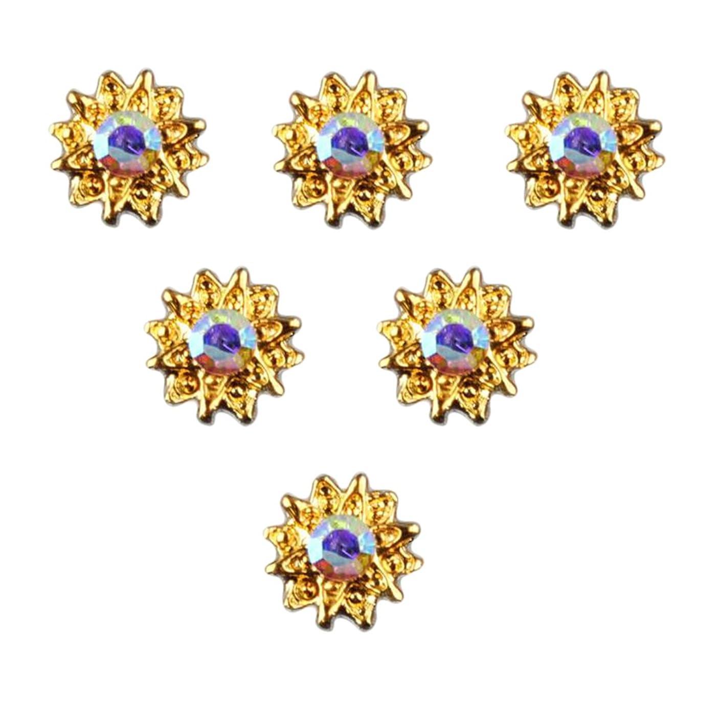 模索叙情的なシマウマT TOOYFUL 全8種類 マニキュア ネイルデザイン ダイヤモンド 3Dネイルアート ヒントステッカー 50個入り - 5