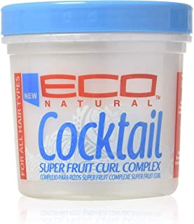 ECOCO Eco Cocktail Super Fruit Curl Complex Styling Creme, 16 oz (Pack of 2)