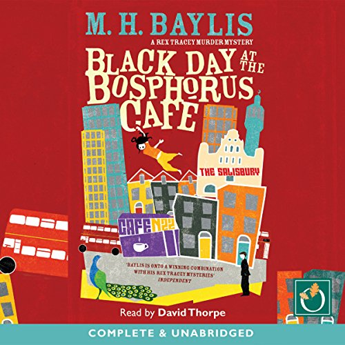 Black Day at the Bosphorus Cafe audiobook cover art