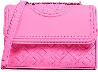 Tory Burch Women's Fleming Matte Small Convertible Shoulder Bag