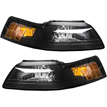 Amazon Com Million Parts Pair Front Headlight Assembly Fit For