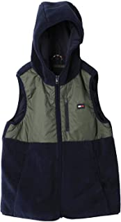 Tommy Hilfiger Baby Boys' Teddy Mix Vest Jacket, (Green LLP), 74