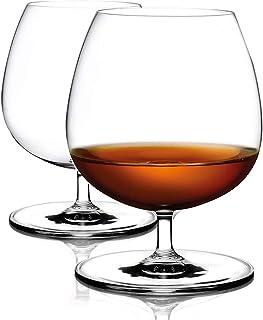 Cognacgläser aus Kristallglas 500ml groß und spülmaschinenfest Brandyglas Cognacschwenker 2-teiliges Set