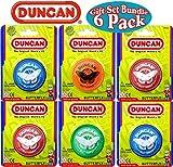 Duncan Yo-Yo Butterfly Gift Set Bundle - 6 Pack (Assorted Colors)