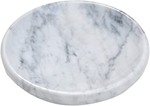 White Marble Soap Dish - Polished and Shiny Marble Dish Holder ? Beautifully Crafted Bathroom Accessory ? by CraftsOfEgypt