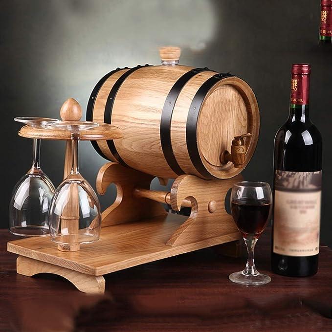 YYJIUTONG Barril de Vino, dispensador de Barril de Vino de ...