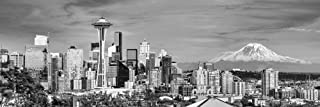 seattle black and white prints