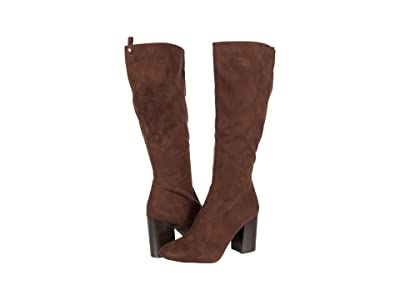 Kenneth Cole Reaction Corey Tall Boot (Chocolate Microsuede) Women