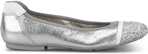 Hogan damen Ballerinas - Silber Flat schuhe