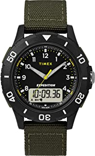Timex Expedition Katmai Combo 40mm Watch - Black Case Dial/Gre. [TW4B16600JV]