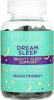 Pacifica Dream Sleep Beauty Gummies. Beauty Sleep Support. Melatonin, L-theanine, Chamomile and Elderberry. Non-GMO. Vegan...