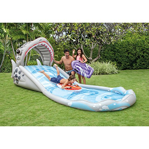 Intex Surf 'N Slide Inflatable Play Center, 181' X 66' X 62', for Ages 6+