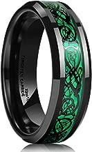 green meteorite ring