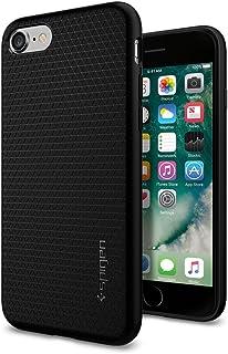 Spigen Liquid Air Armor iPhone 7 Case / iPhone 8 Case with Durable Flex and Easy Grip Design for Apple iPhone 7 (2016) / iPhone 8 (2017) - Black