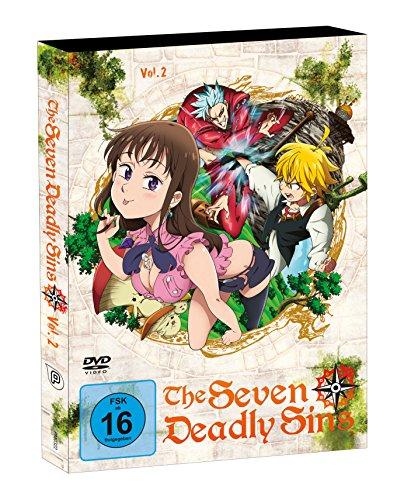 The Seven Deadly Sins - DVD 2 - Episoden 7-12 (2 Discs)