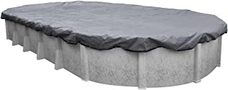 Pool Mate 521224-4 Extreme-Mesh Winter Oval Above-Ground Pool Cover, 12 x 24-ft, 7. XL Silver