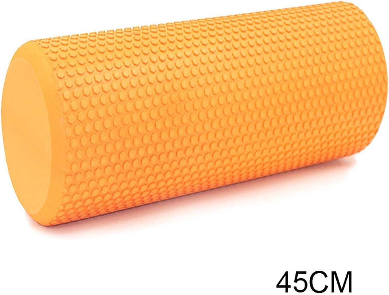 30 45 60Cm Eva Yoga Foam Roller Training Volume Roller Bricks Fitness Exercise Pilates Body Building Back Massager