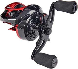 featured product Fiblink Baitcasting Fishing Reel 10+1 Ball Bearings Right/Left Hand Casting Reel Ultra Smooth Baitcaster for Freshwater and Saltwater with Reel Bag