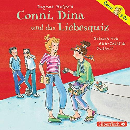 Conni, Dina und das Liebesquiz     Conni & Co 10              Autor:                                                                                                                                 Dagmar Hoßfeld                               Sprecher:                                                                                                                                 Ann-Cathrin Sudhoff                      Spieldauer: 2 Std. und 30 Min.     32 Bewertungen     Gesamt 4,5